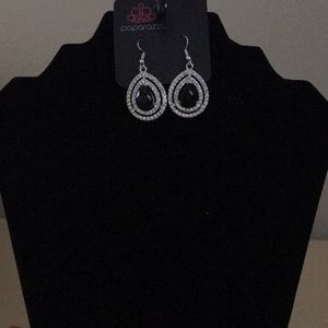 Million Debonair- Black Earring